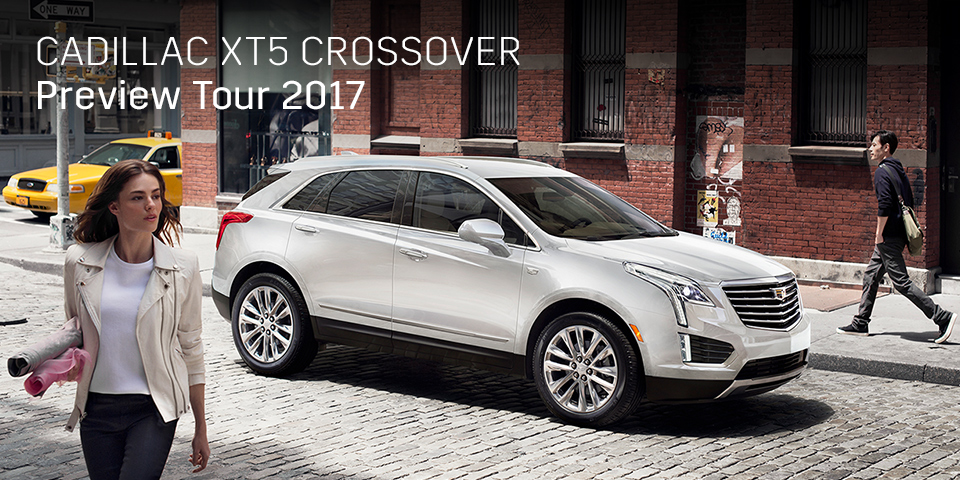 CADILLAC XT5 CROSSOVER PREVIEW TOUR 2017 開催_期間:2017.9.30[土]-2017.10.1[日]